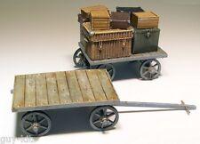 Chariots à bagages de Gare - Kit résine PLUS MODEL 1/35 - Réf. 207