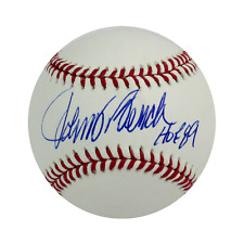 JOHNNY BENCH BASEBALL RADTKE AUHENTICATED W/ HOF INSCRIPTION PROOF PHOTO RED SOX