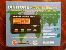 Digitone ProSeries Blocker Call Blocking and Routing Using Caller ID Service
