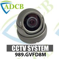 4 in 1 IR Eyeball CCTV Dome Camera Grey Varifocal 8MP 4K AHD TVI CVI CVBS