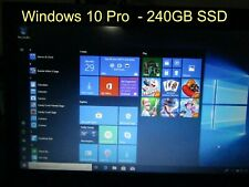 "SSD 240GB 2.5"" Hard Drive SATA III  64 bit with Windows 10 Pro Installed"