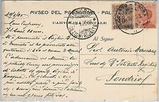 55904 -- CARTOLINA d'Epoca -  Pallanza:  annullo NATANTE Locarno - Arona 1925