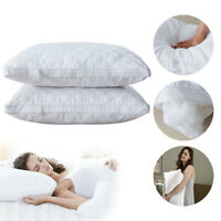 Soft Hotel Bed Pillows For Sleeping Hypoallergenic Neck Back Pillow Queen Size