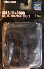 Trumpeter 1/35 00510 AR-15/M16/M4 FAMILY CQBR 4 Pcs. New In Package!
