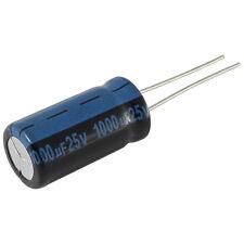 5 Elko Kondensator radial Jamicon TK 1000uF 25V 105°C 073382