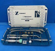 Zimmer Hg Multilock Hip Prothesis General Instruments With Case