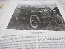 Internationales Automobil Archiv 2 Sport 2005a Rolls Royce TT Rennwagen 1905