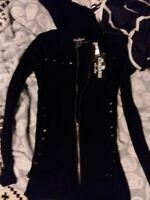 Hot Topic Royal Bones Jacket Size Xsmall New With Tags with Free Gift