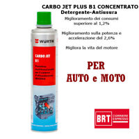 WURTH PROTETTIVO ADDITIVO BENZINA CARBO JET B1 300ML AUTO E MOTO 08935312