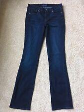 NWOT LUCKY BRAND Women's Brooke Slim Boot Cut Jeans Dark Wash Sz 6L