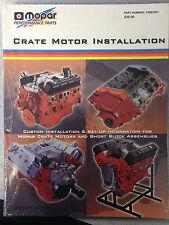 Mopar Crate Motor Installation Manual  P5007521