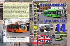 2836. Reading & Bracknell.UK. Buses. April 2014. The bus layout around the centr