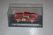 Fiat 124 Abarth Rally de Portugal 1974 1:43