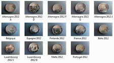 2 euro pièce commémorative 2012 - Tous les pièce disponibles **Nueve**