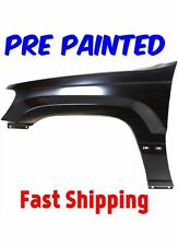 PRE PAINTED Driver LH Fender for 1999-2004 Jeep Grand Cherokee w Free Touch Up