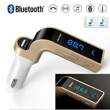 Inalámbrico Bluetooth transmisor FM Reproductor MP3 coche Kit Cargador Para iPhone Samsung