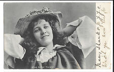 Miss Daisy Thimm PPC, Worksop 1903 PMK to Miss Cook, Ivory Bank, Chesterfield