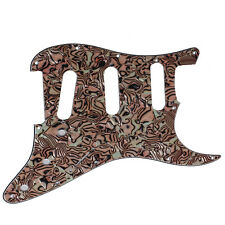 New 3-Ply  Bronze Shell Guitar Pickguard for ST Strat Guitar Replacement