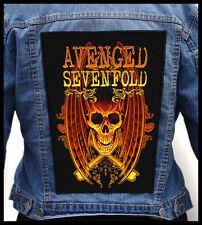 AVENGED SEVENFOLD - Skull --- Giant Backpatch Back Patch