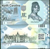 ACC STATE BANK NOTE SERIES DELAWARE POLYMER FANTASY ART BILL CAESAR RODNEY!
