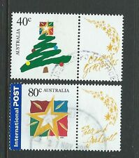AUSTRALIA 2001 CHRISTMAS FIRST ISSUE FINE USED