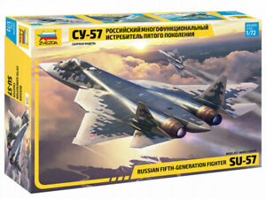 Zvezda 7319 Russian Fifth-Generation Fighter SU-57 1/72