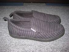 """Men's MACBETH FOOTWEAR 2007 """"Slide"""" Shoes Size 9.5 Black/White Stripe"""