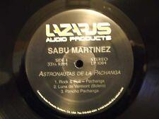 Sabu Martinez ASTRONAUTAS LP Descarga Afro Latin Jazz test pressings No Cover