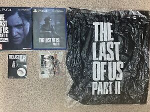 The last of us part 2 Steelbook ps4 and Included Game