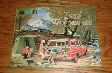 Original 1962 Jeep Wagoneer Sales Brochure 62