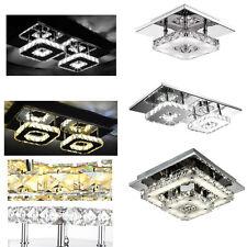 Kristall LED Deckenlampe Dimmbar Flurleuchte Schlafzimmer Wandlampe Beleuchtung