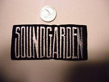 SOUNDGARDEN Chris Cornell FUZZY grunge SEW/IRON ON EMBROIDERED PATCH NEW