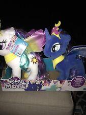 My Little Pony: The Movie Princess Celestia & Luna Large Soft Plush - New W/Tag