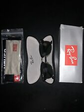 34f88dc1e7b Ray Ban Clubmaster W0365 51-22 Made In Italy G-15 Lens RB3016 With