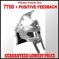 Gladiator Maximus Helmet with Liner, & Chin Strap Role-Play Re-enactment Costume