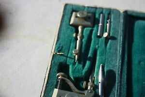 PFAFF vintage in case, new parts, for sewing machine NOS PFAFF Germany