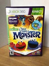 Sesame Street: Once Upon A Monster - Xbox 360 Kinect