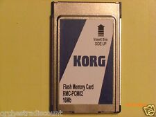 Korg Flash Memory Card 16 MB for PA80 PA60 PA50 High Quality RMC-PCM02 Full