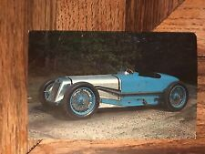 1927 DELAGE GRAND PRIX RACE CAR Picture Photo Vintage Postcard