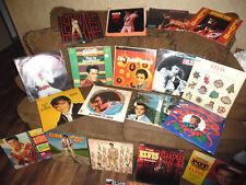 VINTAGE ELVIS PRESLEY VINYL RECORD ALBUMS LOT OF 19