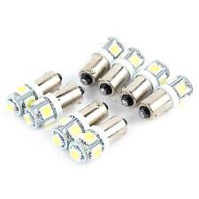 10PCS T11 12V BA9S Bright White 5050 SMD 5 LED Auto Car Wedge Light Bulb Lamp