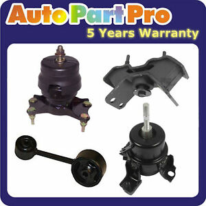 For Lexus RX300 3.0L V6 FWD 1999-2003 Engine Motor & Auto. Trans. Mount Set 4PCS