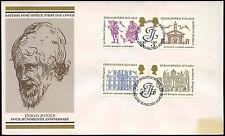 GB FDC 1973 Inigo Jones, Bureau H/S #C19422
