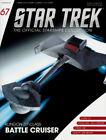 *#67 STAR TREK STARSHIPS COLLECTION ANTARES KLINGON D7-CLASS BATTLE CRUISER WARS
