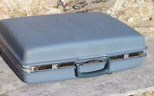 Vintage valise bleue Samsonite coque dure 55 cm