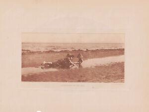 """ALFRED STIEGLITZ (AMERICAN, 1864-1946), PHOTOGRAVURE """"MUSHROOMS by the SEA"""" 1895"""