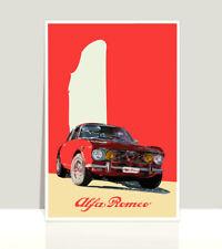 "Alfa Romeo Gtv 2000 Poster Aluminum 36""x 24"""