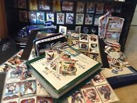 1000 Random Hockey Card Collection Mint All Sets + 1 NHL PLAYER SIGNED PHOTO
