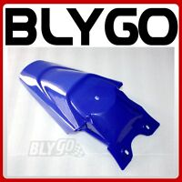 Blue Plastic Rear Tail Mud Guard Fender KLX110 Style PIT PRO Trail Dirt Bike