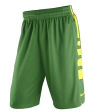 Nike Men's LARGE $50 Oregon Ducks Practice Elite Performance Basketball Shorts